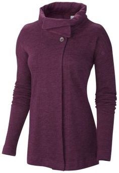 """Columbia Sportswear WOMEN'S WEAR IT EVERYWHERE™ II WRAP: This super soft and pliable wrap has two, large buttons at the top and looks great over tees and tanks. A very subtle logo will have your friends who touch it saying; """"I LOVE this, who is it?"""""""