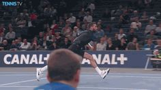 There's Physics, and then there's Tennis Physics...
