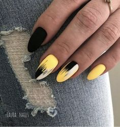 This series deals with many common and very painful conditions, which can spoil the appearance of your nails. SPLIT NAILS What is it about ? Nails are composed of several… Continue Reading → Kt Nails, Gold Nails, Black Nails, Matte Nails, Prom Nails, Coffin Nails, Cute Acrylic Nails, Matte Black, Yellow Nails Design