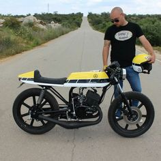 "Yamaha rd 125 ""79 cafe racer 60th anniversary"