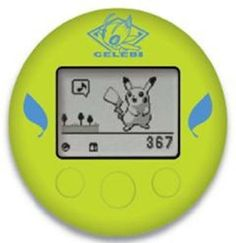 Nintendo DS Pokemon Silicone Cover for Pokewalker Green Celebi  Your #1 Source for Video Games, Consoles & Accessories! Multicitygames.com
