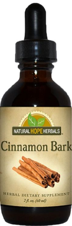 All Natural CINNAMON BARK Liquid Tincture by NaturalHopeHerbals