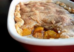 Quick and Easy Rustic Peach Cobbler
