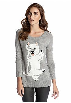 Jack by BB Dakota Scottie Dog Sweater #belk #women