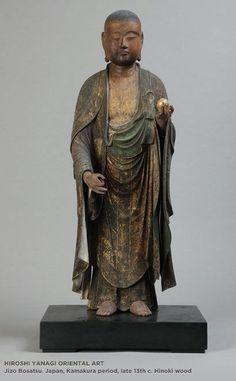 Jizo Bosatsu. Japan, Kamakura period, late 13th century.