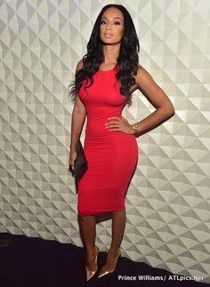 a36ac32bb5 Steal  Draya Michele s Prive Friday s Shop Shai Red Bodycon Dress (The  Fashion Bomb Blog)