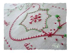 Christmas stitching has begun! New patterns for by Jenny of Elefantz Designs