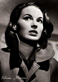 Italian Actress of the Day • Silvana Mangano (She's also Giada De Laurentiis' grandmother)