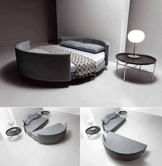 The new fold out lounge