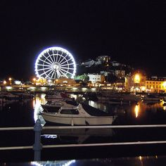 Torquay - The bay At Night