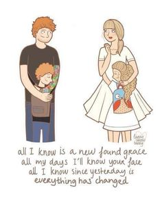 Everything has changed Ed Sheeran and Taylor swift