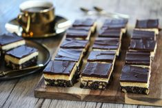 Non Stop iskake Nanaimo Bars, Piece Of Cakes, Baked Goods, Sweet Tooth, Bakery, Goodies, Food And Drink, Nutrition, Sweets