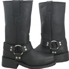 Women's biker boots