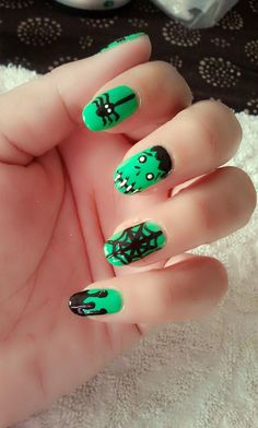 my nail for halloween