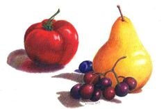 fruit pencil drawing - Google Search