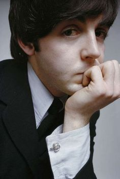 Paul McCartney. he is just..so cute.