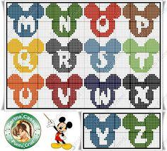 Letreiro Mickey