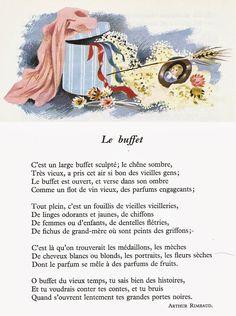 LE BUFFET - Arthur Rimbaud