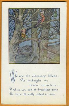 "Helen Jacobs - ""We are the January Elves...."""