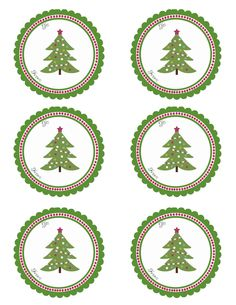 FREE PRINTABLE Christmas Treat & Gift Tag Labels