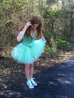 Prom Dresses with Sneakers