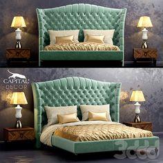 Кровать Kesy Capital Decor