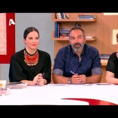 "Eliana Chrysikopoulou wearing the ""mayan"" necklace at Eleni, Alpha Tv #elenimenegaki #eleni #alphatv #tv #klaidra #handmade #bohemian #gypsy #klaidrajewelry"