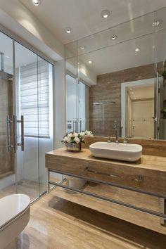 Cortina para Banheiro: 60 Modelos e Ideias para a Janela