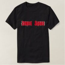 Zombie Squad T Shirt (For Dark)