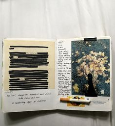 Psa: stop romanticizing smoking. Yes, if it's you smoke and it's your journal and it's personal then you can put it in there, but if you're going to post it for people to get inspired by, since it is very aesthetic, please leave out the cigarette