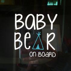 Baby on board vinyl decal/Babies on board by CEEbyCEEboutique ...