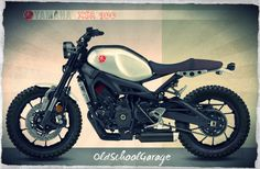 YAMAHA # XSR 900 # NEW MOTORCYCLES # FASTER SON # CAFE RACER # TRACKER # RESTYLE PROJECT