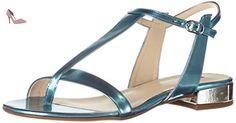 Högl 3 10 1114 3300, Sandales Bout Ouvert Femme, Bleu (Azure3300), 39 EU - Chaussures hgl (*Partner-Link)