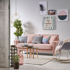 scandi scandinavian style pastel colors living room home office furniture # Pastel Living Room, Living Room Turquoise, Ikea Living Room, Dining Room, Pastel Decor, Deco Pastel, Pastel Colors, Deco Salon Design, Decoracion Vintage Chic