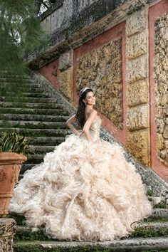 Quinceañera photo session at Vizcaya Museum Miami Quince Pictures, Prom Pictures, Quinceanera Themes, Quinceanera Dresses, Debut Photoshoot, Elegant Wedding Dress, Wedding Dresses, Prom Picture Poses, Quinceanera Photography