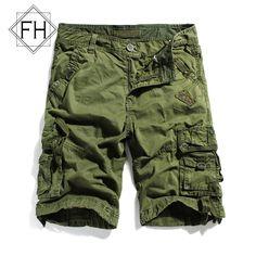 03b28389eb US $27.84 |Aliexpress.com : Buy FuHao Military Cotton Cargo Shorts Mens Hip  Hop Casual Shorts With Multi Pockets Bermuda Men Baggy Short, ...