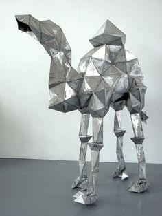 "Saatchi Online Artist: Louise Emily Thomas; Steel 2013 Sculpture ""Dromedary"""