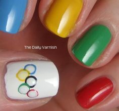 Olympic Nail Inspiration | Gloss Daily