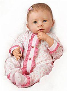 """""""Katie"""" Newborn Lifelike Doll"""