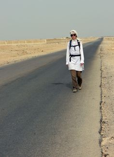 Expedition Yemen by Camel, training in the desert