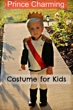These Prince Charming #CostumesforKids are so cute! Do you have a little cutie that wants to be #PrinceCharming this Halloween?