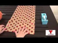 Sa technique pour emballer les cadeaux sans boite est absolument, parfaite! - Trucs et Astuces - Trucs et Bricolages
