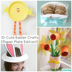 Try these awesome DIY Easter craft ideas! They're not just for casual noshing anymore: Paper plates form the basis of tons of great Easter crafts. Plus, they're budget friendly—and you likely already have a stack at home!