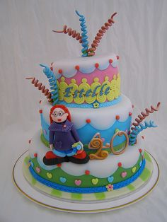 Estelle's birthday cake by Crazy Cake - Cakedesigner57, via Flickr