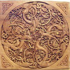 Orion Carvings (Tallados Celtas)