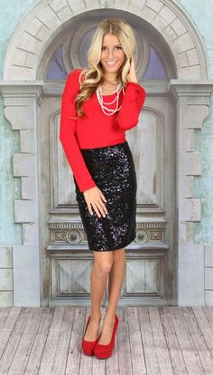 chambray shirt sequin skirt | Black Sequins Asos Skirts, Blue ...