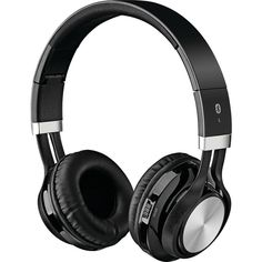 ILIVE IAHB56B Bluetooth(R) Headphones with Microphone (Black)