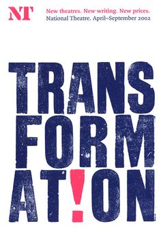 Alan Kitching, National Theatre - Transformation