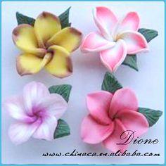 Wholesale thai clay made flowers,thai clay flower $0.027~$0.125