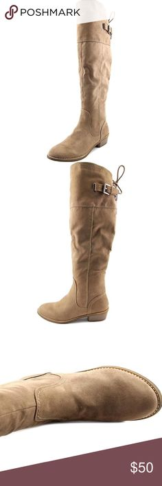 G by Guess Taupe Aikon Tall Boots *NEW in box, never worn *the product details is in the last photo  make me an offer! or click bundle and i can send you at a personal offer!  any questions? be sure to comment below G by Guess Shoes Over the Knee Boots